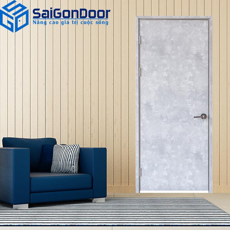 Các mẫu cửa gỗ công nghiệp có màu sắc, kiểu dáng vô cùng đa dạng